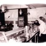 Zur Fischerklause - Innenansicht um 1969