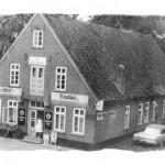 """Die """"alte"""" Fischerklause - Später aus Deichsicherungsgründen abgerissen"""