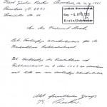 Antrag auf vorläufige Schankerlaubnis vom 04. April 1963