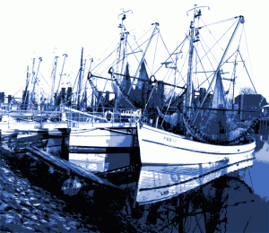 Hommage an den Hafen von Fedderwardersiel